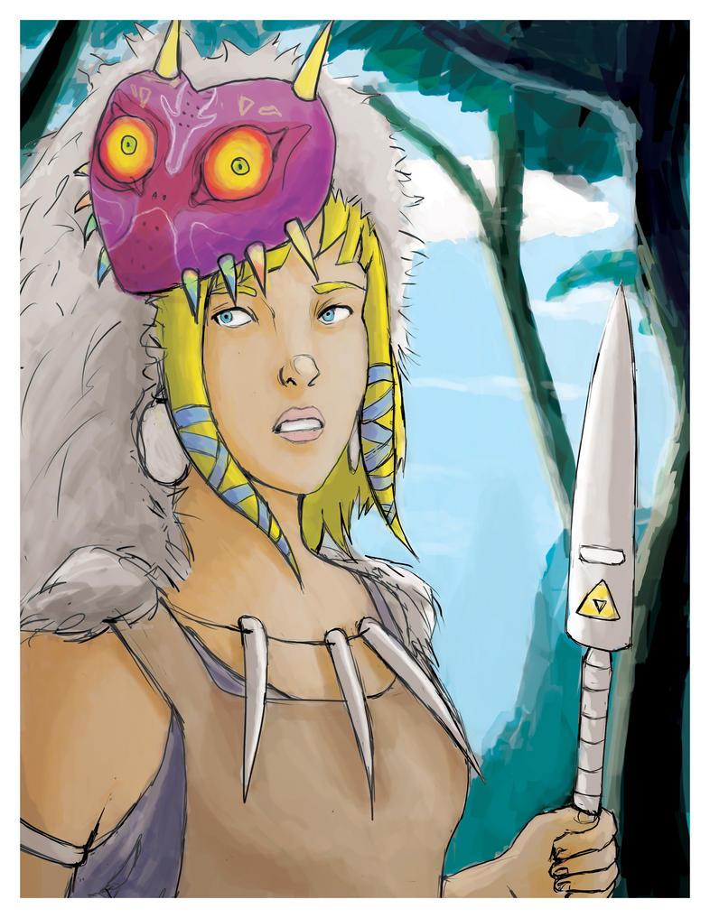 Princess Mononoke/Zelda by Yoseph13