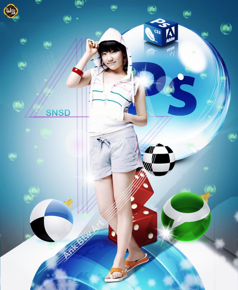 SNSD by w2nswd
