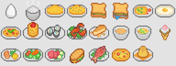 Preparing assets for Cooking System.