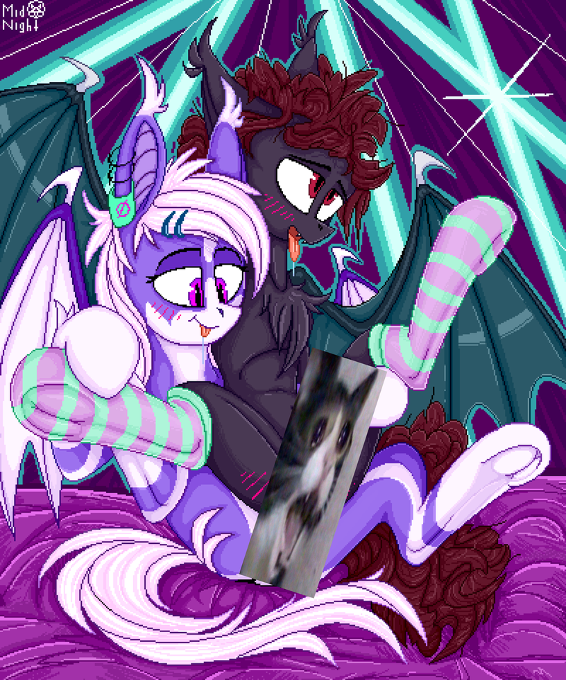 sweet bats owo by IvanMidnight