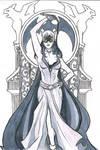 Art Challenge 008 - Art Nouveau Catwoman