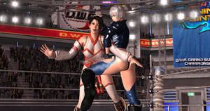 KOF Angel vs DOA Momiji-16