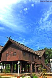 Rumah Betang 3 by zarod