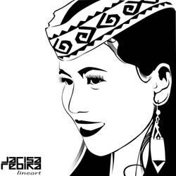 Dayak Girl by zarod