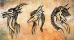 The Trio by Keberyna