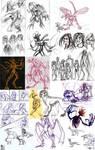 Tis a Sketchdump by Keberyna
