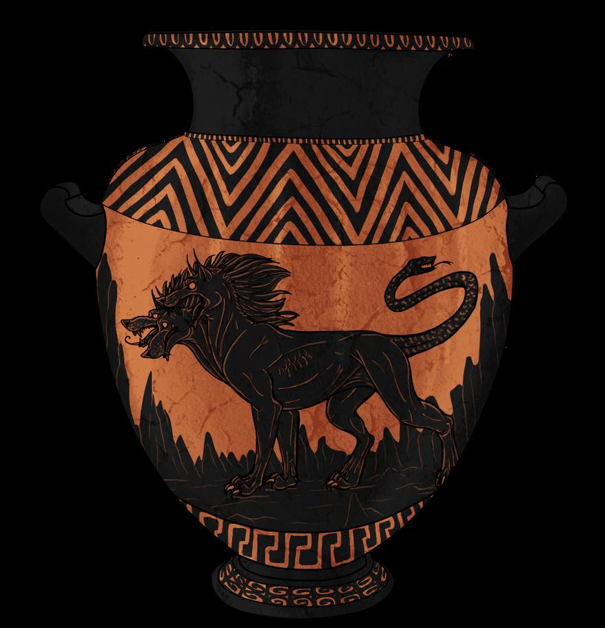 Cerberus Vase Picture, Cerberus Vase Image