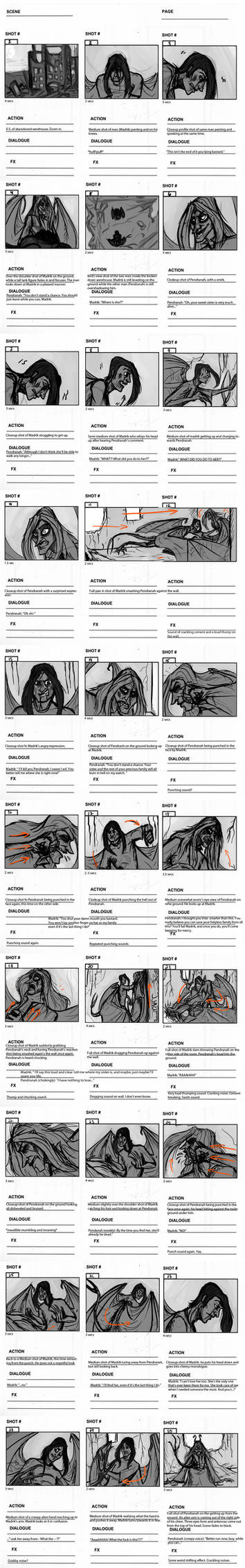 Storyboard Project 4 -- Action