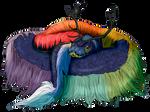 Jaden - The Rainbow Serpent by Keberyna