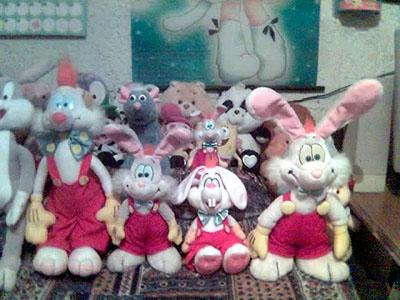 My Roger Rabbit Plushies By Roger Rabbit On Deviantart