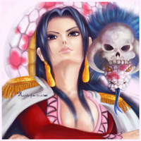 Pirate empress, Boa Hancock by Kaizoku-hime