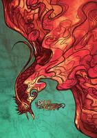 Raffle gift firebirdchick by Kaizoku-hime