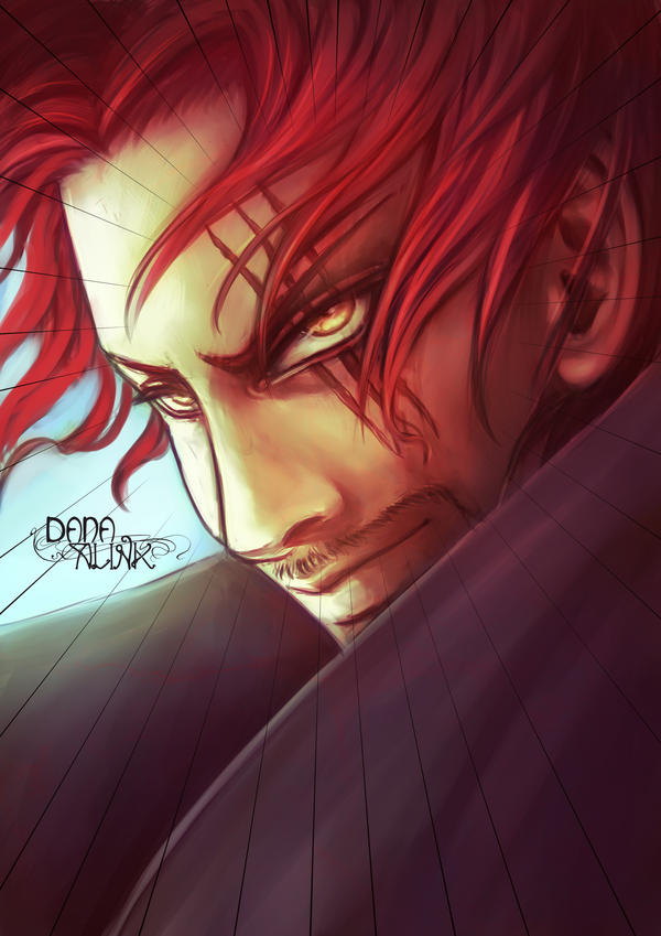 Fan-art Friday: Akagami no Shanks by Kaizoku-hime
