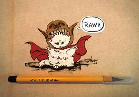 #23 - Make a cute animal dangerous by Kaizoku-hime