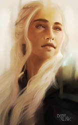 Fan-art Friday: Daenerys Stormborn by Kaizoku-hime