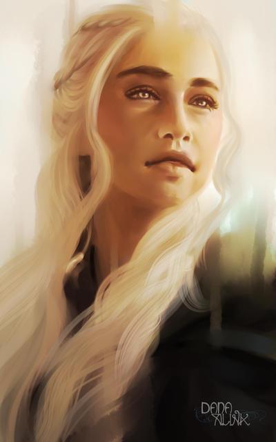 Fan-art Friday: Daenerys Stormborn