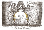 Inktober day 15 - The Frog Prince