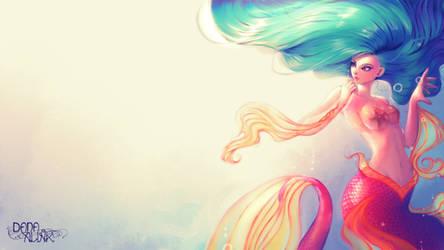Mermaid blue by Kaizoku-hime