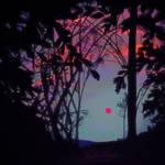 Pleinairpril - Perugia at sunset