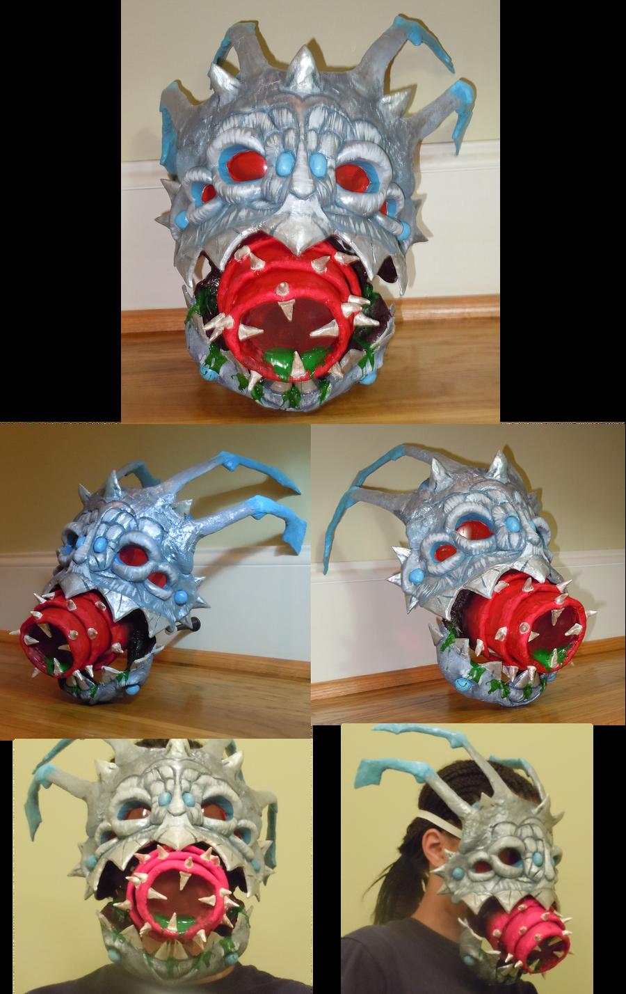 Kog maw Mask - New Year s Tiger Head Mask