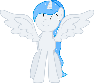 Just another Princess White Flare vector