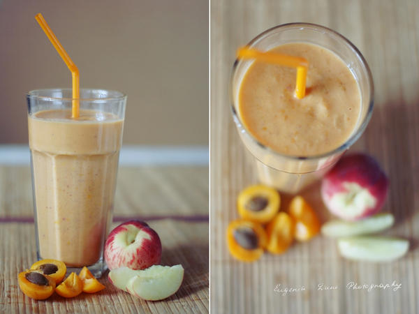 Peach And Apricot Smoothie by eugene-dune