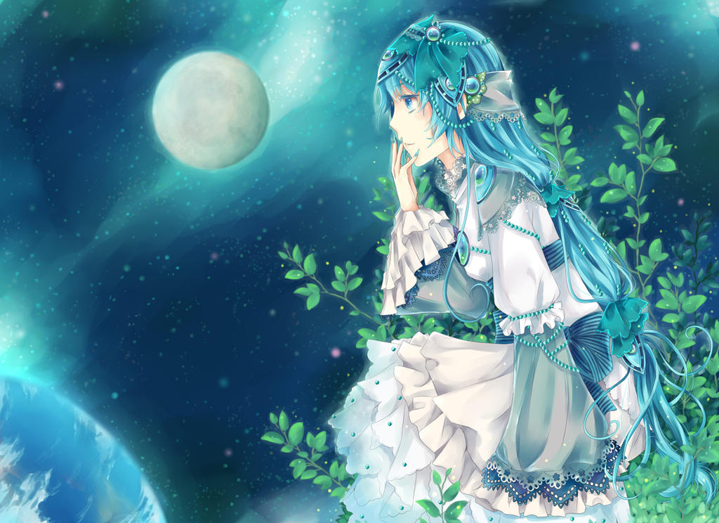 Planet Gazing by ShinyShinyKun