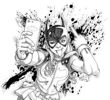 Batgirl Selfie by edhmuller
