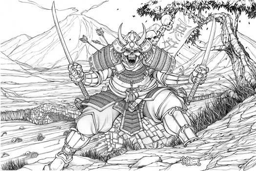 Sword of the Samurai Cover