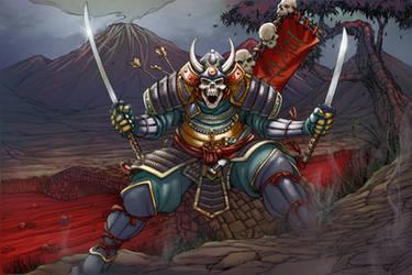 Sword of the Samurai Cover - Colors