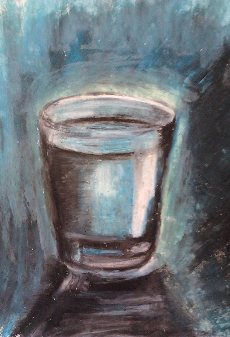 Glass of water by SofiaSevero