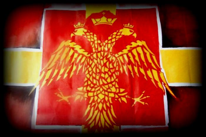 Byzantine Flag by SofiaSevero