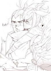 doodle yasuo x riven by Kair030