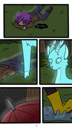 Damon Arme: Found in the storm PG-1 by xXPurple-LoveXx