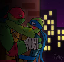 A secret night with you .:ROTTMNT2018:. by xXPurple-LoveXx