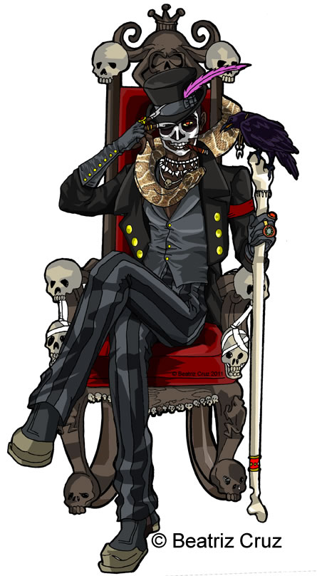Baron Samedi by Bechanlollipop