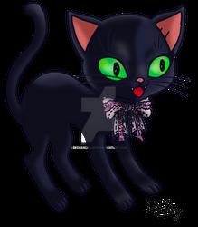 La gata de ojos verdes de ciencia ficcion