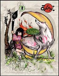 Okami fanart by blitzball