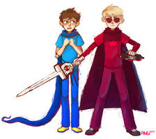 Knight and Heir by Atherist