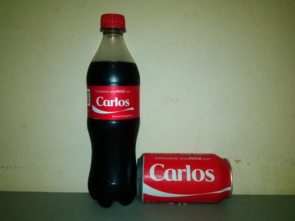 share a coca-cola with carlos by caarloos93