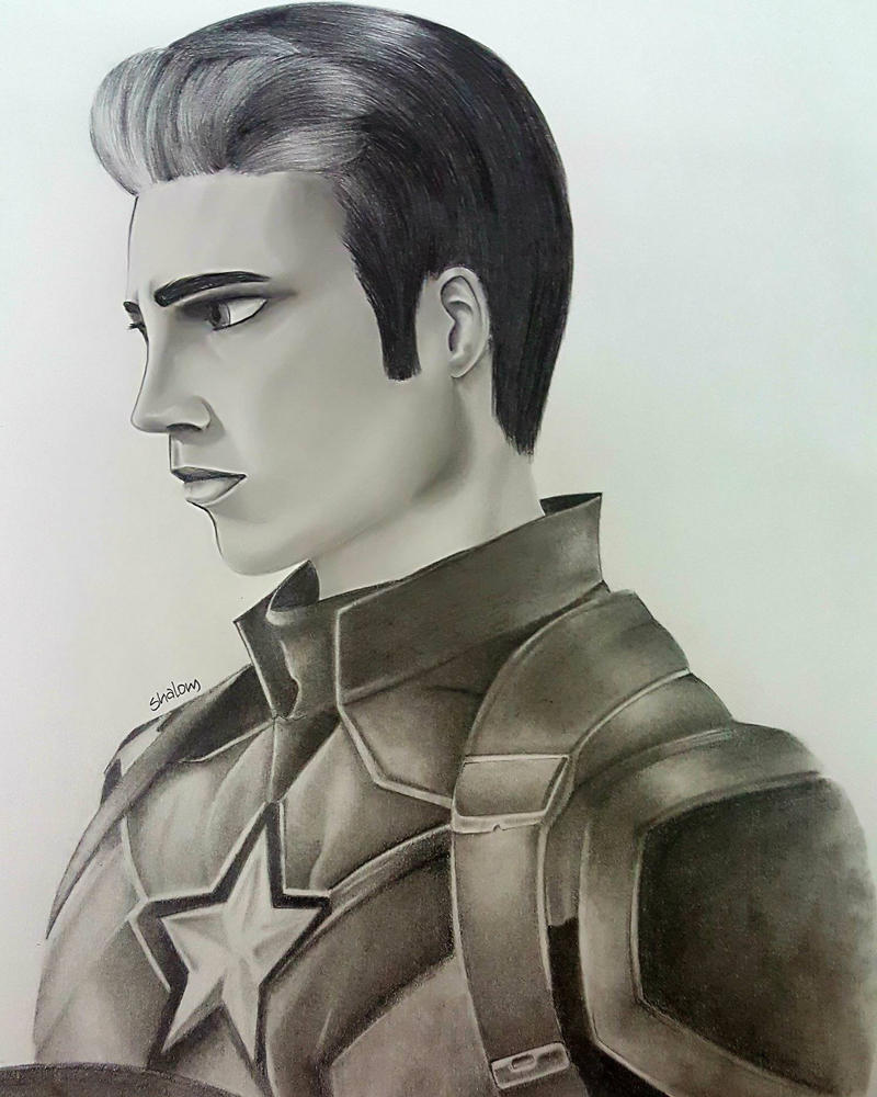 Captain America  by xXLittleTigressXx