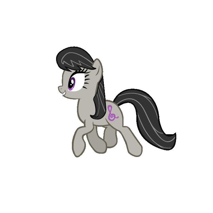 Trotting Octavia (Still Vector)