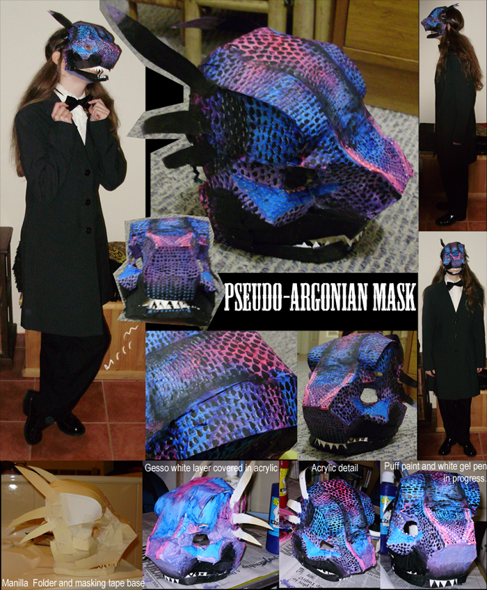 Pseudo-Argonian Mask by muffin-wrangler