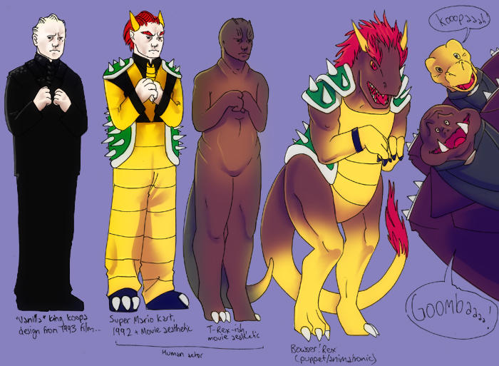King Koopa Redesigns By Muffin Wrangler On Deviantart