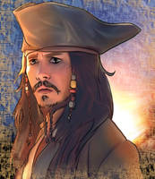 Jack Sparrow, eh? by muffin-wrangler