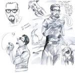 Gordon Freeman Sketches