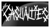 .::Stamp::. The Casualties by Mercenary-Punk