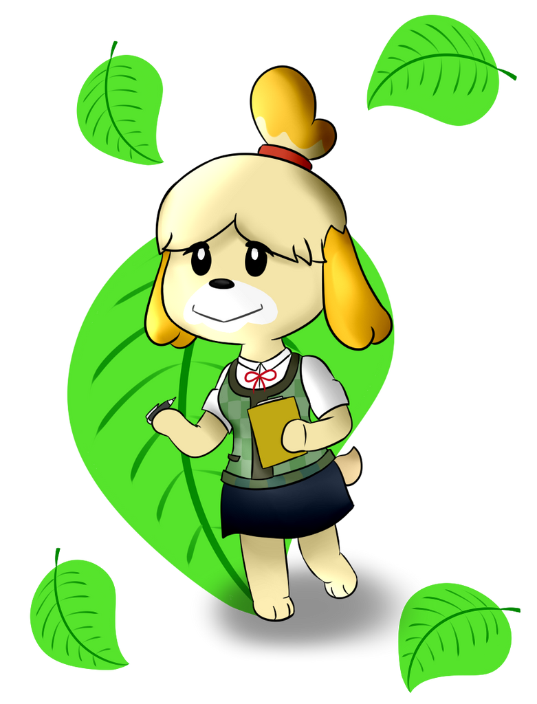 Assure you. animal crossing isabelle naked cum