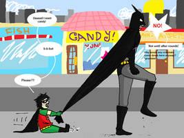 Batman + Robin: The early days by ShadowIZ