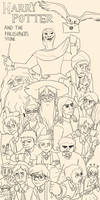 Harry Potter and the Philosopher's Stone Lineart